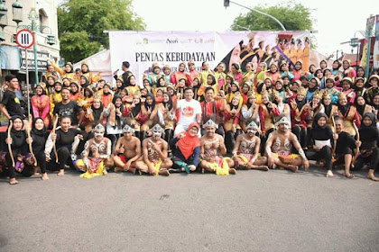 Poemerintah Aceh Peuduek Gelar Budaya di Solo, Peunajôh Pré Bak Acara Car Free Day
