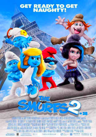 The Smurfs 2 (2013) BRRip 720p Dual Audio In Hindi English Free Download Full Movie In HD