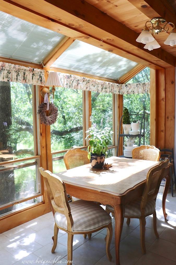 Dream sunspace interior design