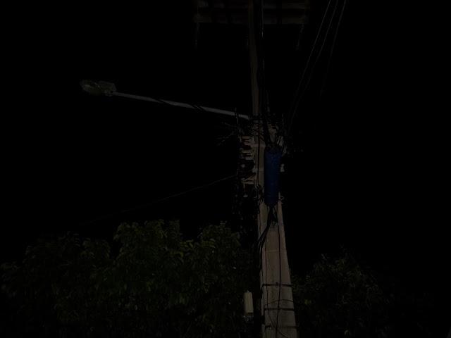 Macau: Rua Parelhas tem poste as escuras