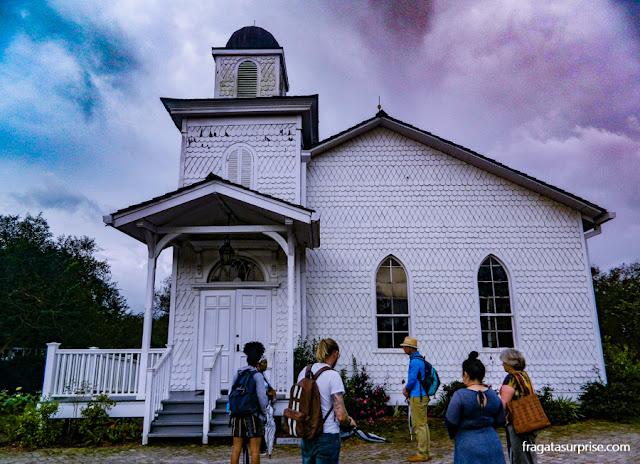 Capela da Whitney Plantation, Luisiana