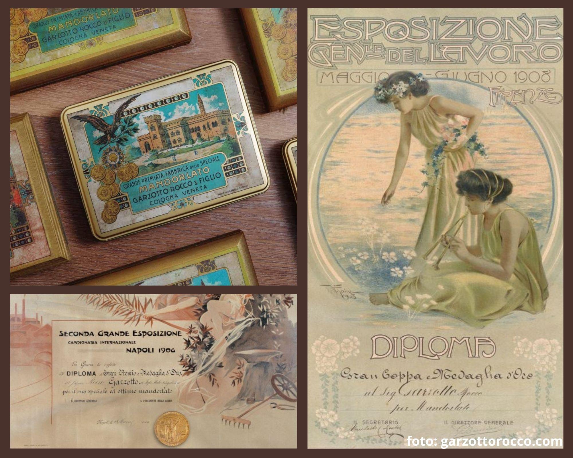 medaglia; garzottorocco; mandorlato; veneto