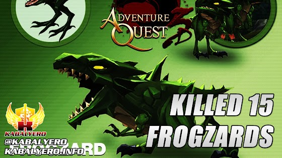 For Science, Killed 15 Frogzards » Let's Play AdventureQuest 3D #5 (STEAM Early Access)