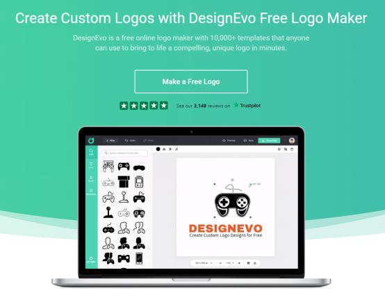 designevo free logo maker