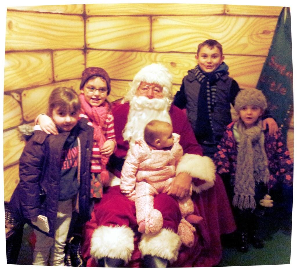 Christmas Santa's Grotto Folly Farm Pembrokeshire Wales