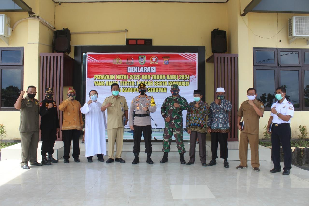 Deklarasi Nataru Lintas Sektoral Kabupaten Seruyan