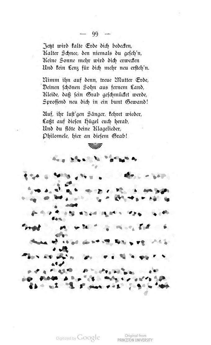 Epoesie Lucy Guttzeit Klage Um Einen Toten Kakadu