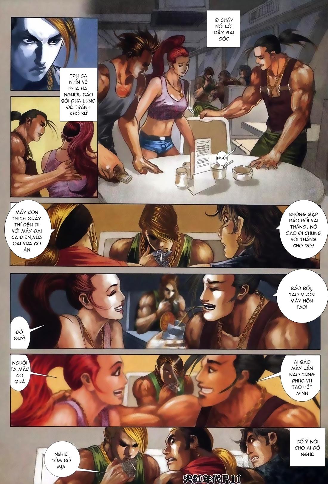 Hỏa Hồng Niên Đại Hắc Cốt Đường Chap 111 - Trang 7