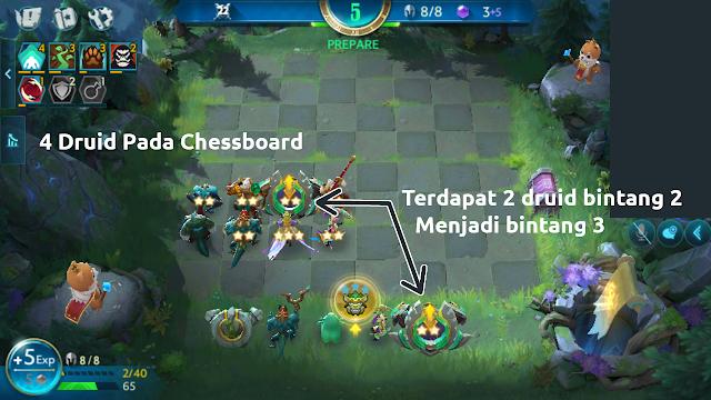 Class Druid Chess Rush(Tencent) - Updgrade Bintang Lebih Cepat!