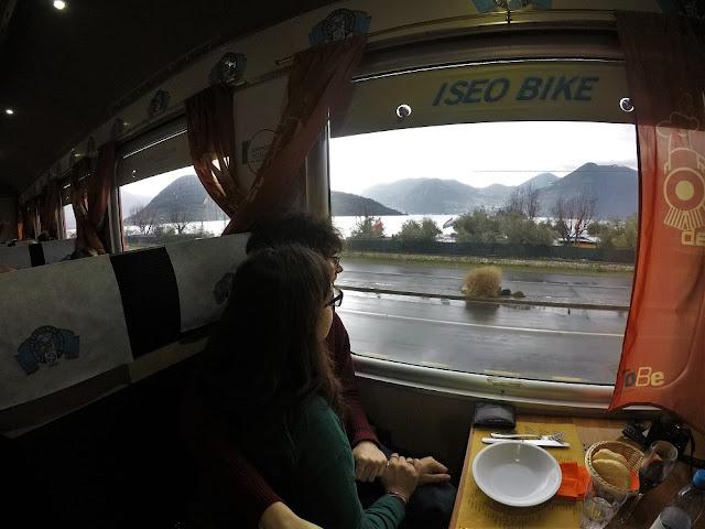 viaggiando sul treno dei sapori