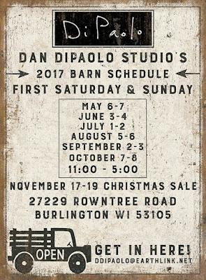 Dan Dipaolo Studio's Barn Opening
