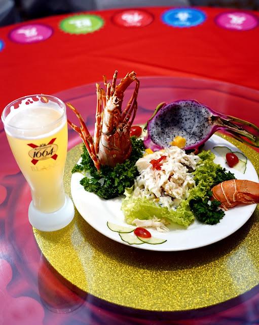 Kronenbourg 1664 Blanc Lobster Salad