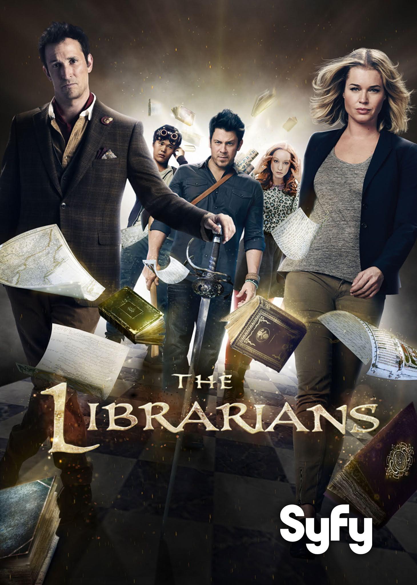 The Librarians Serie Completa Subtitulado