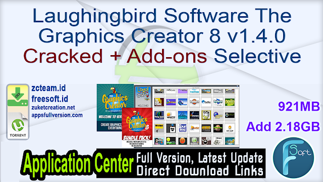 Laughingbird Software The Graphics Creator 8 v1.4.0 Cracked + Add-ons Selective