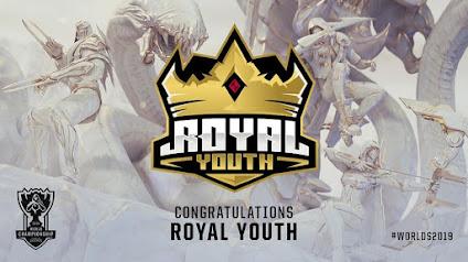 Royal Youth – Gã Hoàng Gia đã sẵn sàng chinh phục CKTG 2019