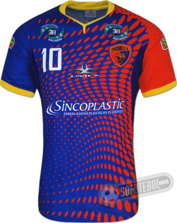 Uniex divulga as novas camisas do Cascavel CR - Show de Camisas 9c5985e449671