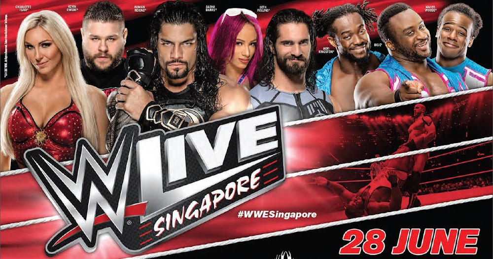 WWE Singapore 2017 Tour - Complete Schedule & Details, on Wednesday, June 28, 2017 at the Singapore Indoor Stadium.