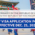 [KOREA TRAVEL ADVISORY] Korea Embassy in the Phillipines: New Visa Application Form (Effective Dec. 21, 2020)
