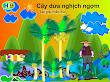 Truyện tranh thiếu nhi : Cây dừa nghịch nghợm - HIền Bùi