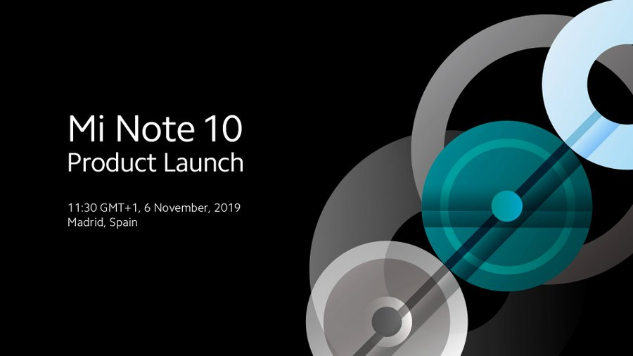XIAOMI MI NOTE 10 TO ARRIVE IN SPAIN ON NOVEMBER 6TH