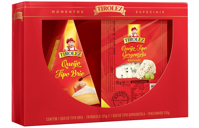 COMER & BEBER: Tirolez lança Kit de Inverno com Brie e Gorgonzola