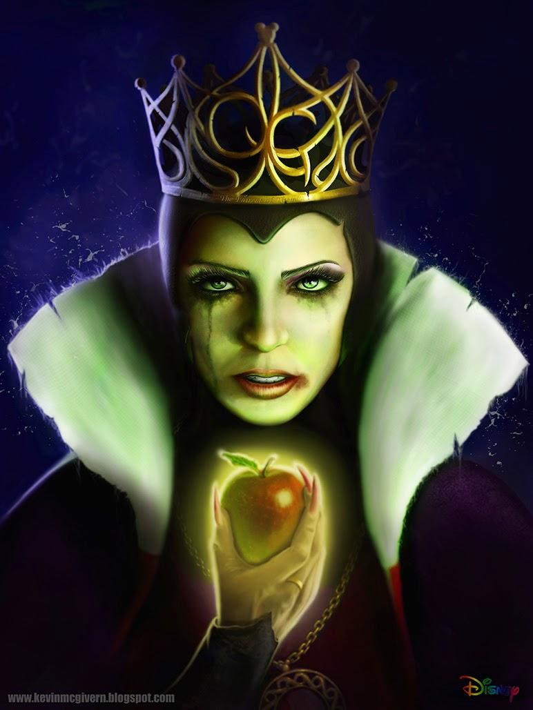 AuthorQuest: Analyzing the Disney Villains: The Evil Queen ...Disney Evil Queen Art
