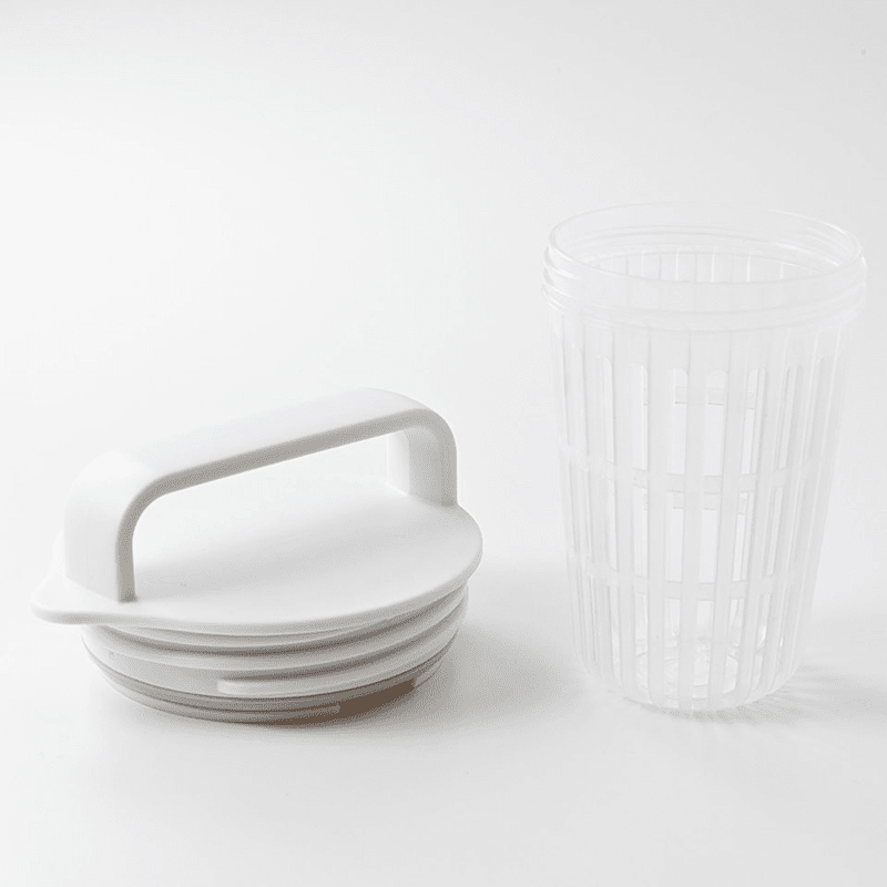 Removable cap design that can be used to steep tea