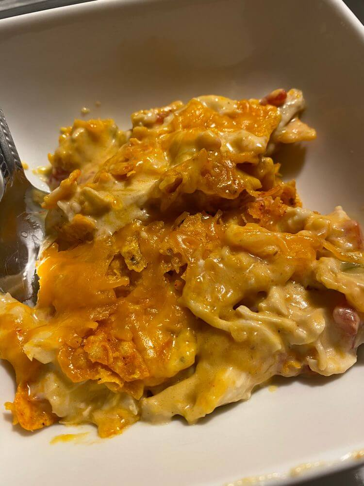 Chicken Doritos Casserole
