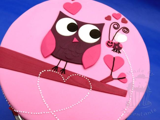 Cici Rosa Pink Und Lila Mal Eine Torte In Madchenfarben Von Mir