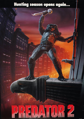 Poster Of Predator 2 (1990) In Hindi English Dual Audio 300MB Compressed Small Size Pc Movie Free Download Only At worldfree4u.com