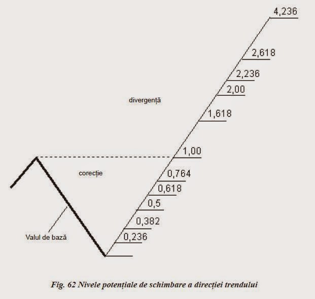 liniile de corectie fibonacci)