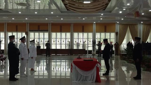 Lantik Bupati- Wakil Bupati Labuhanbatu, Gubernur Edy Minta Maksimalkan Penyerapan APBD