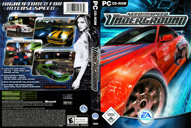 Need for Speed Underground: Jogos gratis para pc fraco