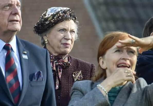 Princess Benedikte attended a memorial service at Spentrup Church. In 1943, Hvidsten Inn became the center for the Hvidsten group