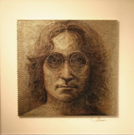john lennon Bullet Casing Portrait