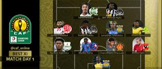 التشكيلة المثالية للجولة الأولى من دور المجموعات لدورى أبطال إفريقيا