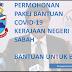 Ini Cara Mohon Pakej Bantuan Covid-19 Kerajaan Negeri Sabah Online Dengan Lebih Cepat & Mudah - Tak Perlu Daftar e-kasih