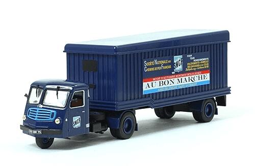 coleccion camiones articulados, camiones articulados 1:43, F.A.R. TYPE CM 75 camiones articulados