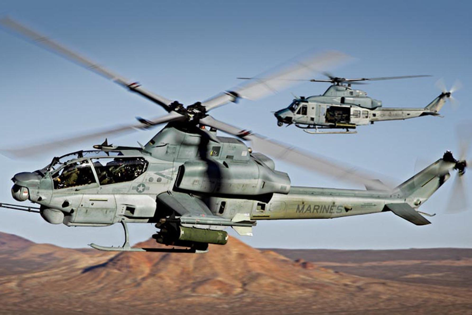 10 AH-1W Super Cobra most powerful military helicopters