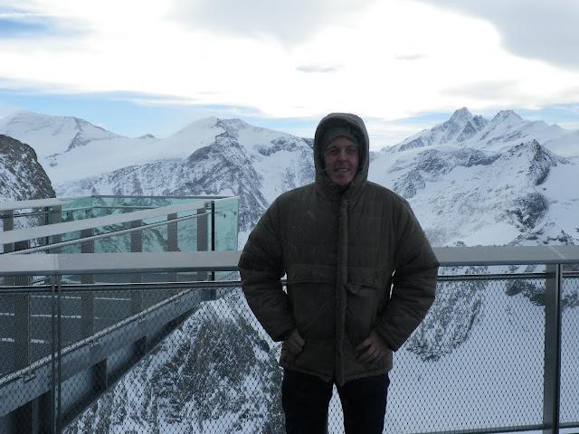 Alexander Tauscher auf dem Kitzsteinhorn
