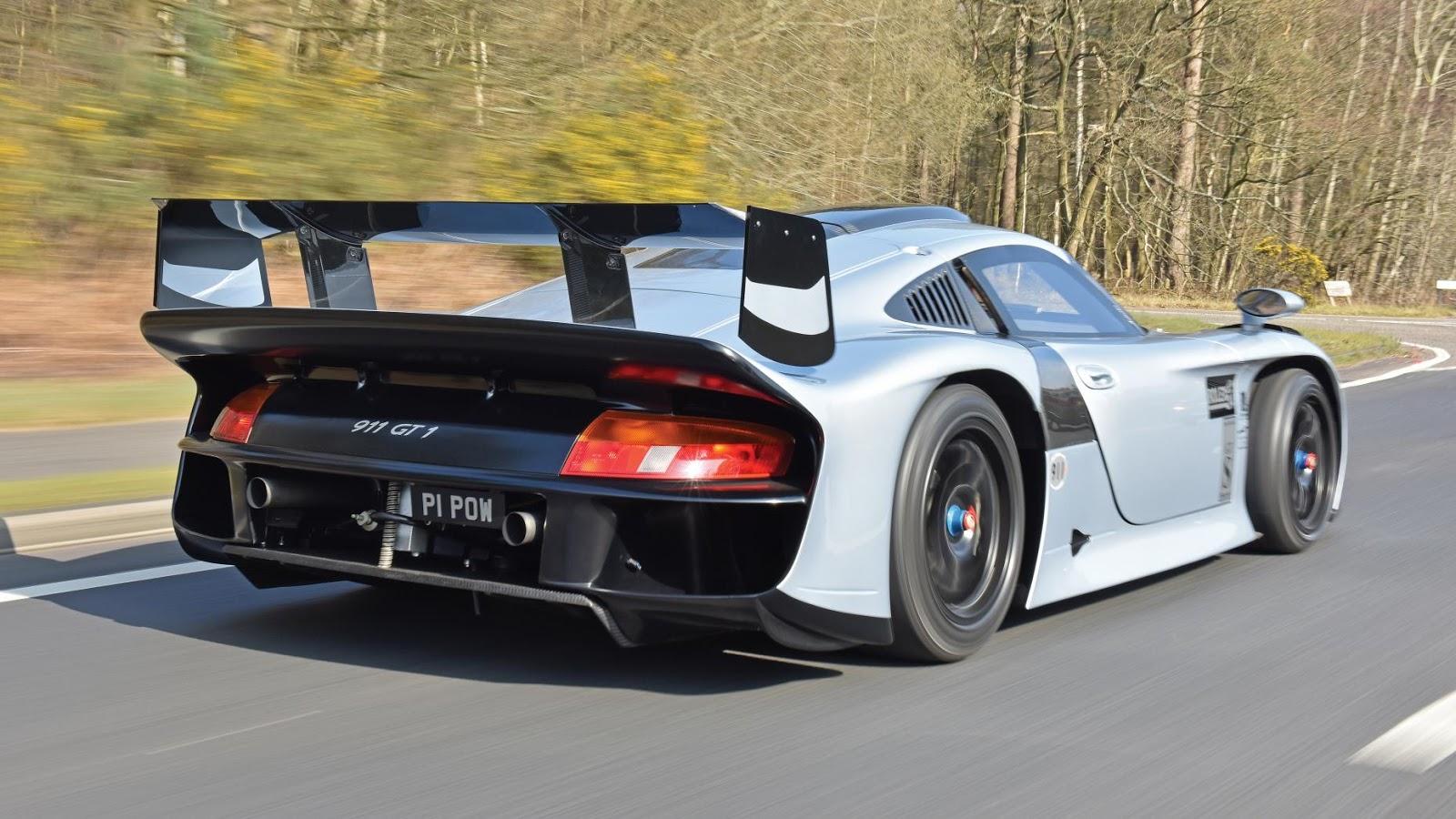 1997 Porsche 911 GT1 Evolution - £ 2.2m