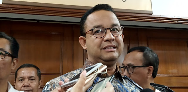 "Koordinasi PSBB Dipertanyakan, Anies: Biar Itu Menjadi ""Dapur"" Kami"