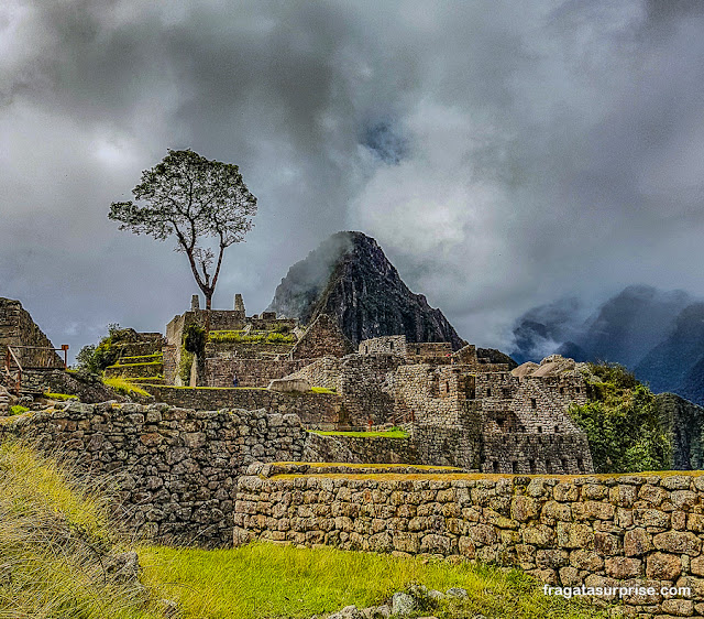 Visão geral de Machu Picchu, Peru