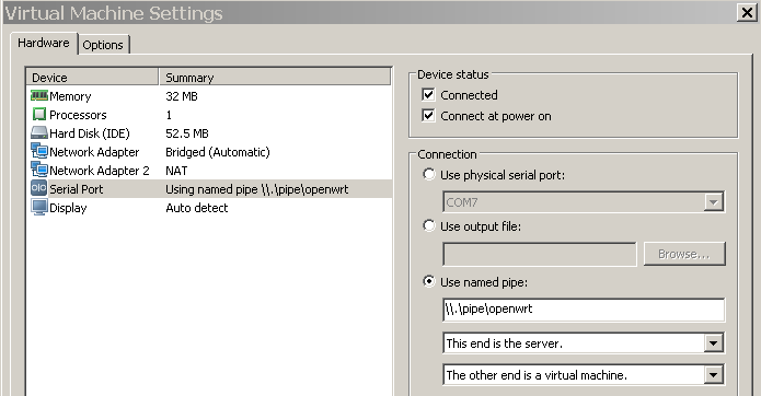 OpenWRT in Vmware as a light weight router and virtual host