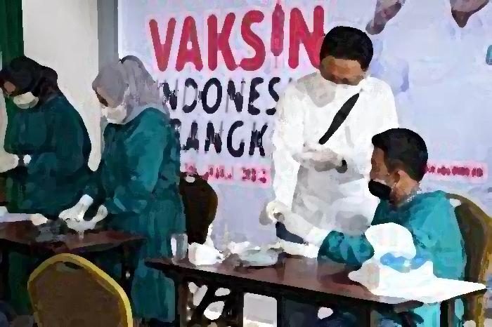 PKB Tanggamus Fasilitasi Vaksin Covid 19 Bagi Santri di Ponpes Sumberejo