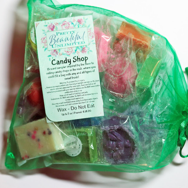Pretty Beautiful Unlimited Candy Shop Wax Sampler