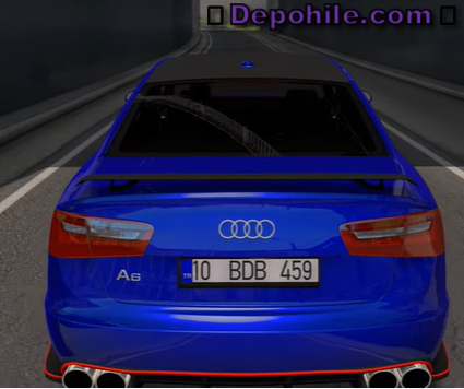 ETS2 1.36 Audi A6 C7 Araba Modu İndir Tanıtım 2020