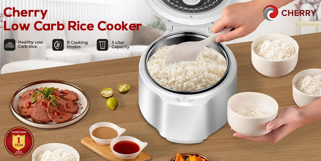 CHERRY Low-Carb Rice Cooker
