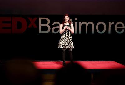 Jennifer Shahade giving Tedx Talk on Understanding Chess Mastery