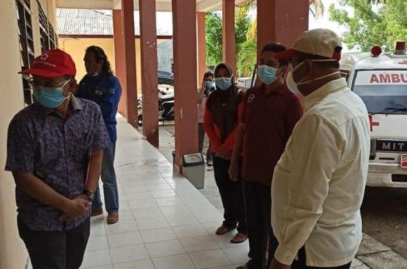 Dari Puskesmas Lama di Meral, Aunur Rafiq Tinjau Gudang Bulog di Pelabuhan Parit Rampak